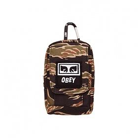 [오베이]OBEY - DROP OUT UTILITY BAG (TIGER CAMO) 타이거 카모 스몰백 미니백 파우치