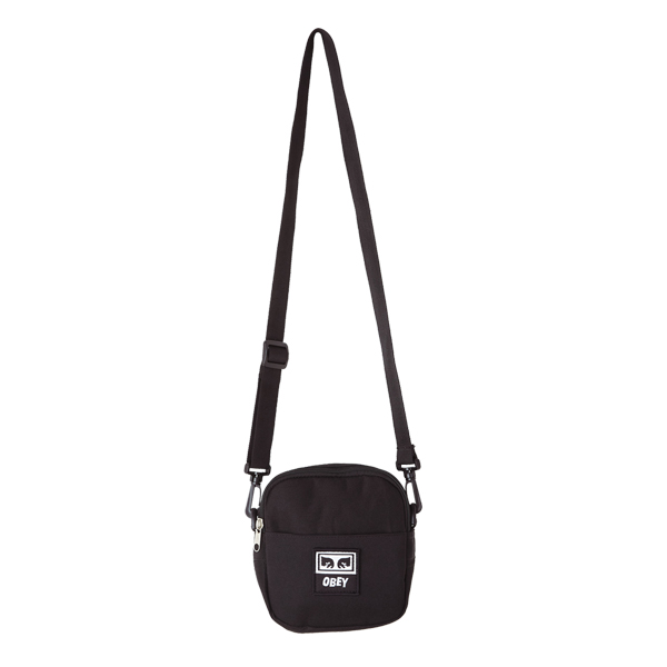 [오베이]OBEY - DROP OUT TRAVELER BAG (BLACK) 미니 크로스백 미니백