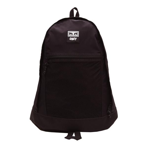 [오베이]OBEY - CONDITIONS DAY PACK (BLACK) 백팩 가방
