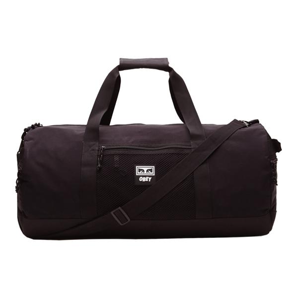 [오베이]OBEY - CONDITIONS DUFFLE BAG (BLACK) 더플백 스포츠백 여행가방