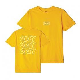 [오베이]OBEY - OBEY JUMBLED EYES T-SHIRT (GOLD) 반팔티 티셔츠