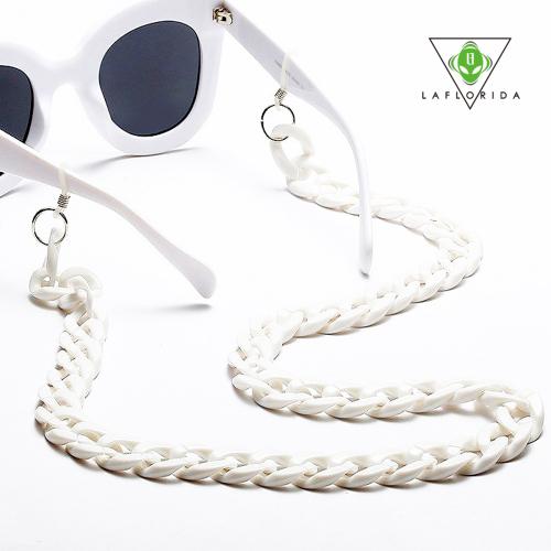 [라플로리다] 루트 화이트 안경줄 선글라스체인