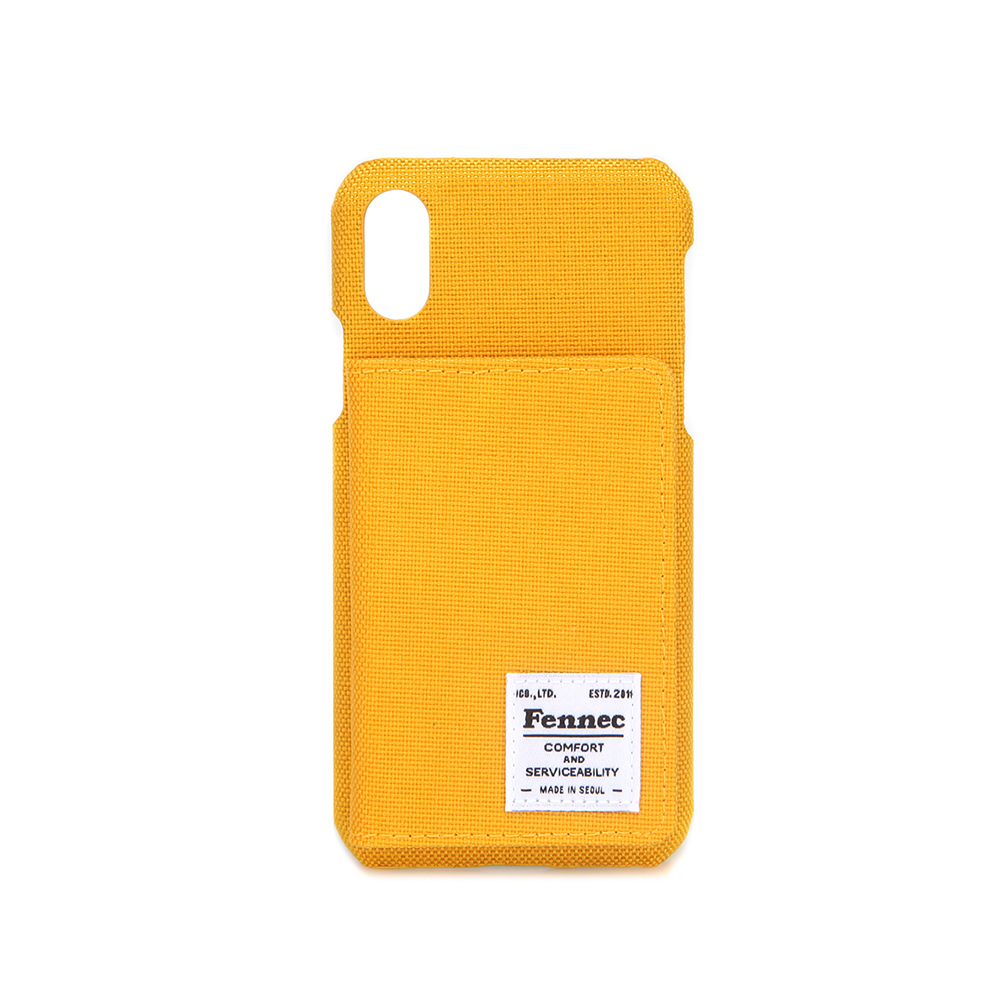 [페넥] FENNEC C&S iPHONE X/XS POCKET CASE - YELLOW