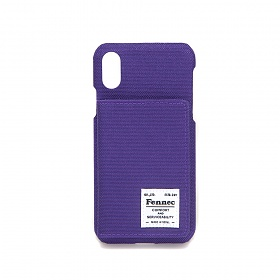 [페넥] FENNEC C&S iPHONE X/XS POCKET CASE - PURPLE