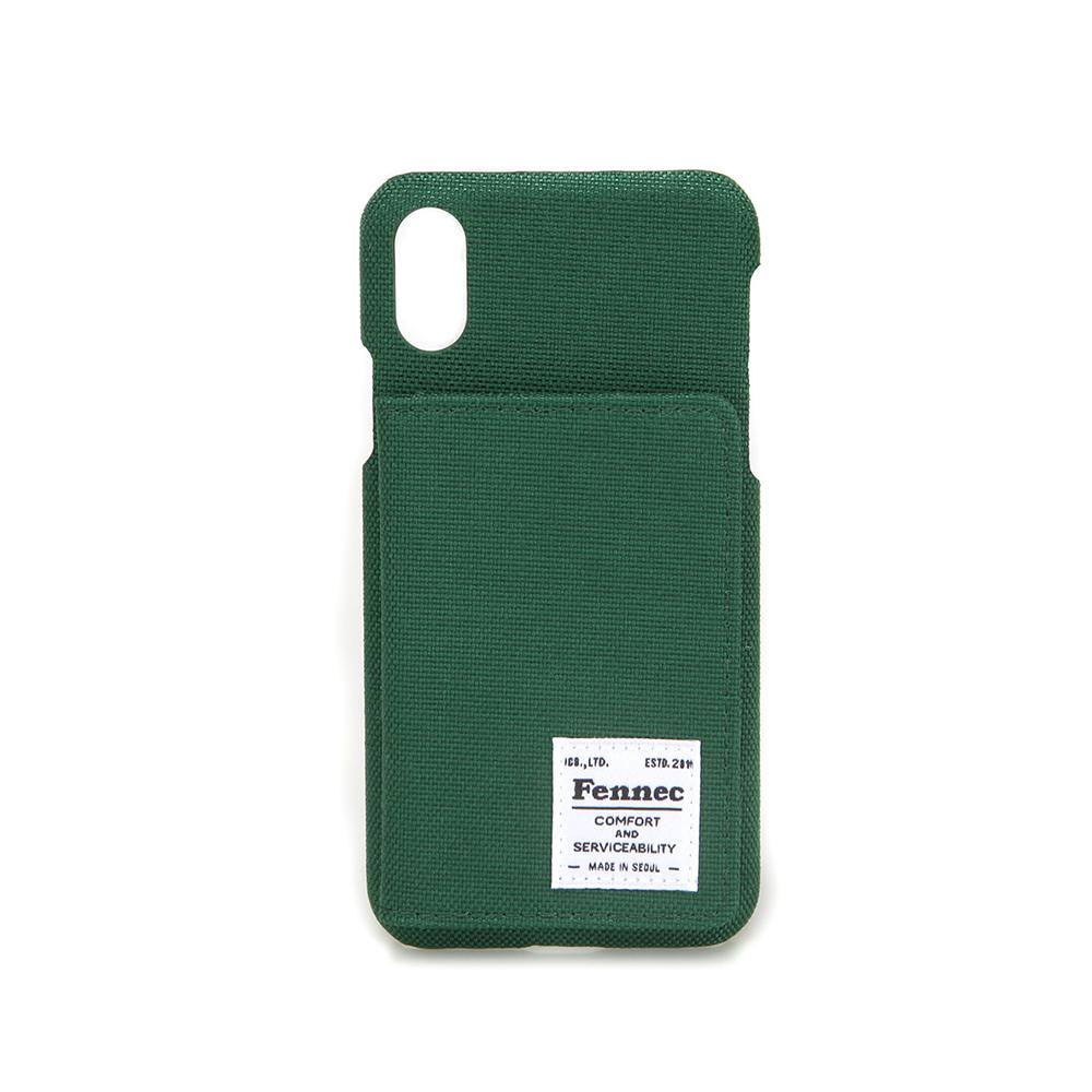 [페넥] FENNEC C&S iPHONE X/XS POCKET CASE - GREEN  아이폰 케이스