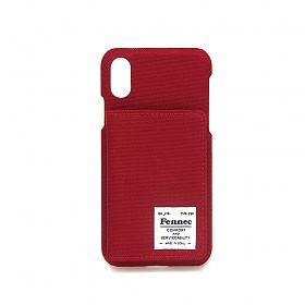 [페넥] FENNEC C&S iPHONE X/XS POCKET CASE - SMOKE RED