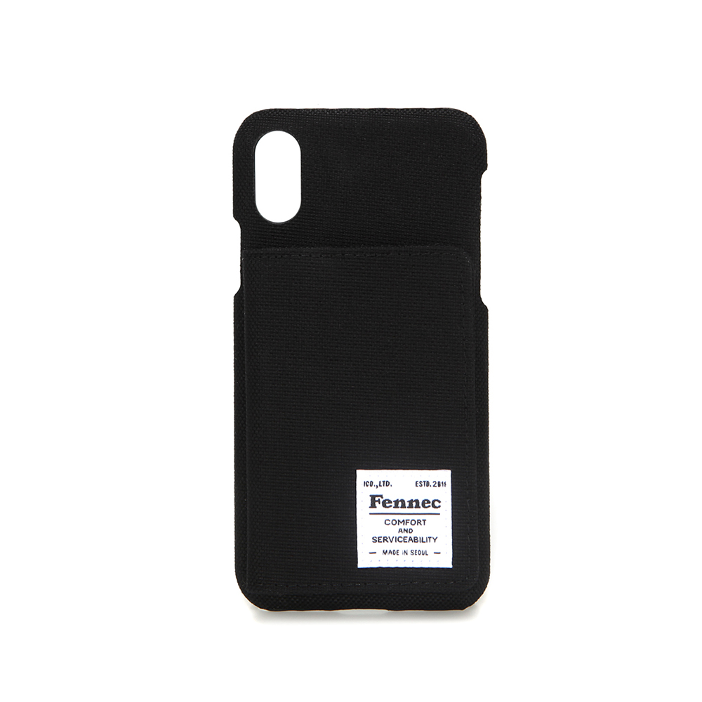 [페넥] FENNEC C&S iPHONE X/XS POCKET CASE - BLACK