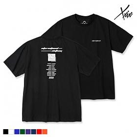[엑스엑스아이엑스] XXIX - BLACK HOLE - (SBSJ8X-3010) - 나염반팔 반팔티셔츠