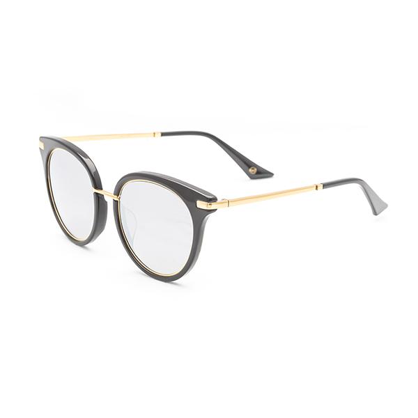 마인드 마스터 MMS1038-A Sunglass (GOLD BLACK)_반미러 선글라스