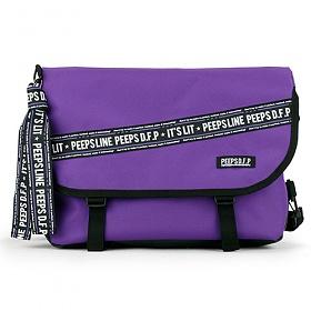 [키링증정][핍스] essential messenger bag_P line edit(P line_violet) 에센셜 메신저백