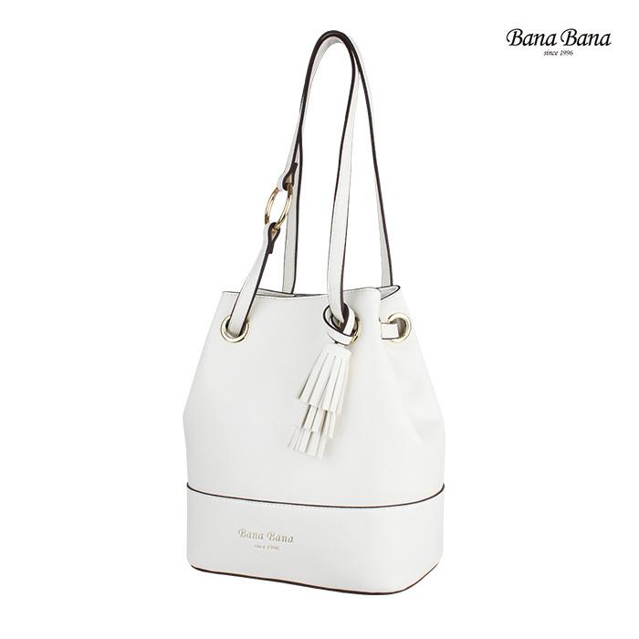 [바나바나] 포비B 숄더백 HMWCB089PY9 화이트 버킷백 여성가방