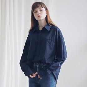 아더로브 투포켓 베이직 셔츠 AST191001-NV