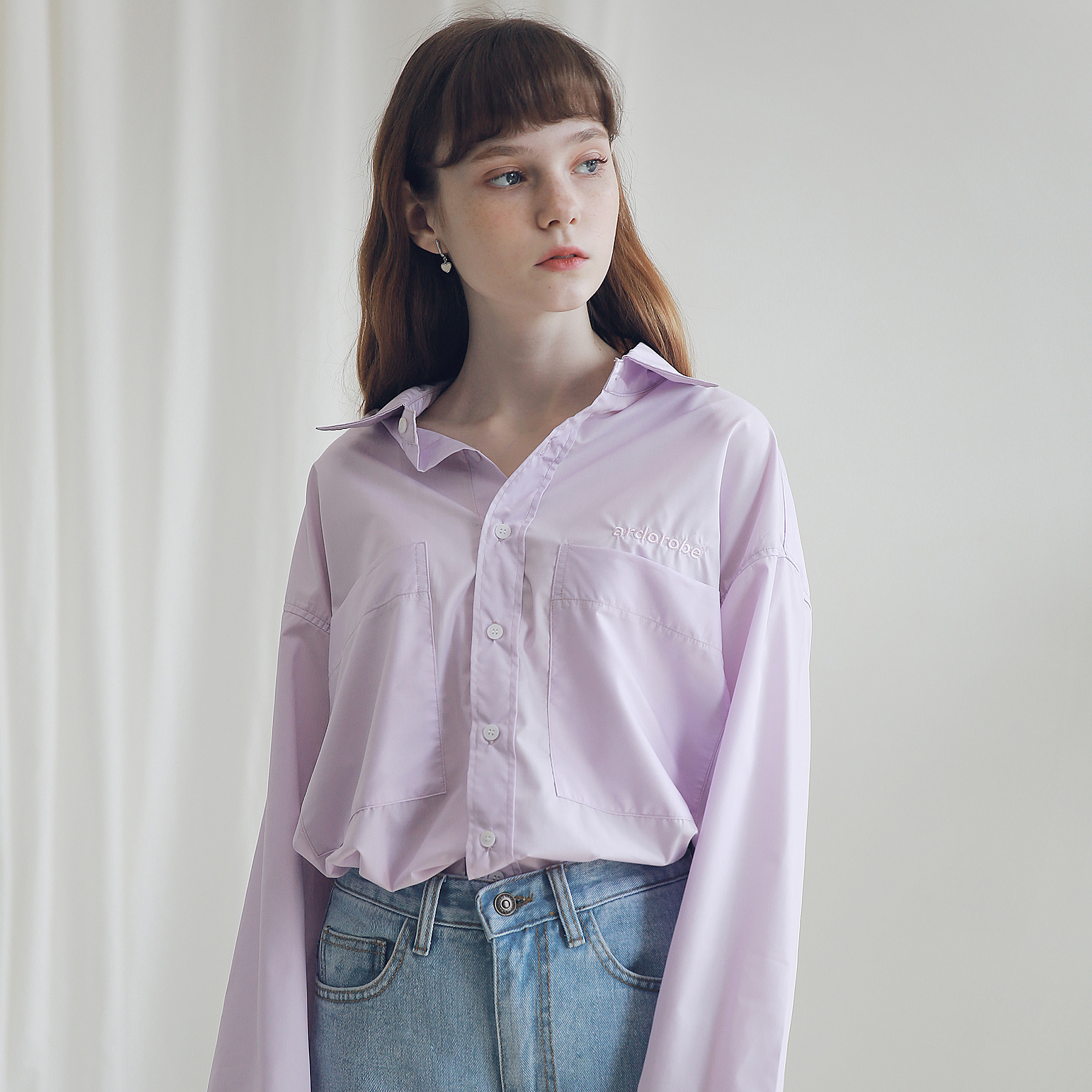 아더로브 투포켓 베이직 셔츠 AST191001-PP
