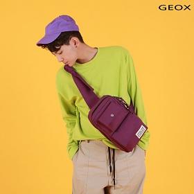 [제옥스]GEOX - WIT MESSGERBAG PURPLE 위트 메신저백 퍼플 슬링백