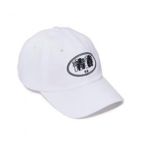 [벗딥]BUTDEEP - SS-L2 CURVED CAP-WHITE 볼캡 캡모자