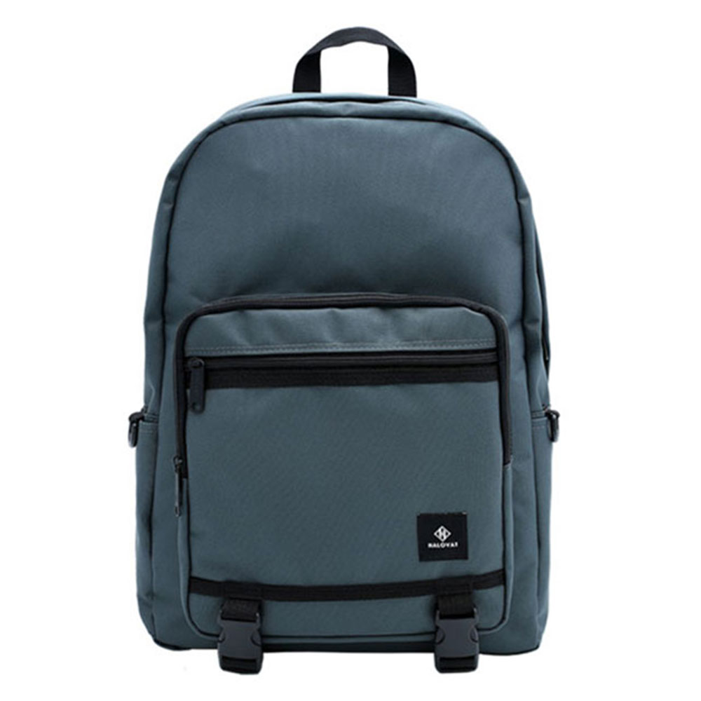 [할로바트] HALOVAT - BASIC DOUBLELINE BACKPACK / BLUEGRAY 백팩