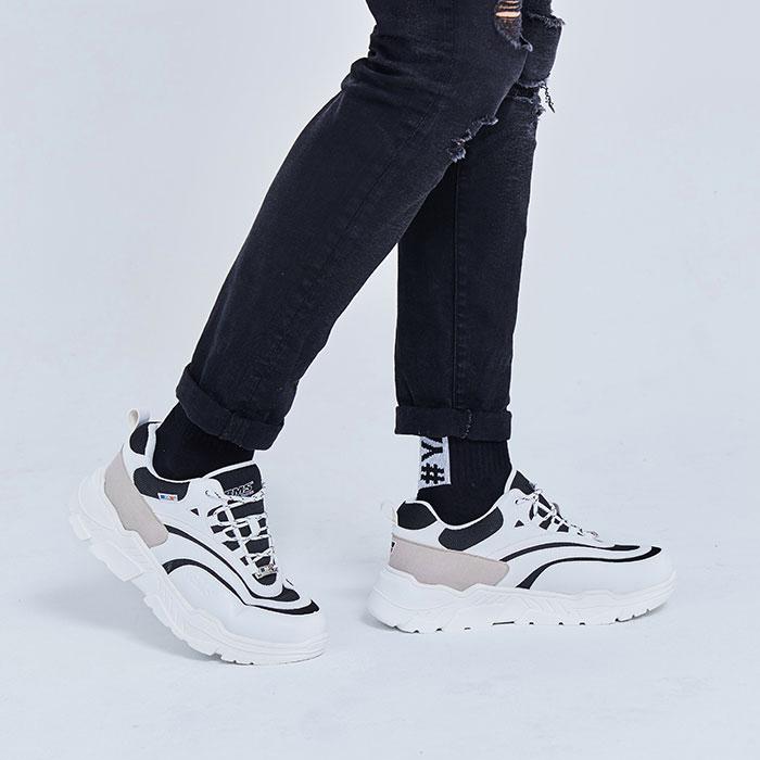 [비엠에스프랑스] BMSFRANCE 여성용 키높이 어글리 크러쉬 스니커즈(GEYH381_39) 운동화