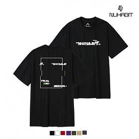 뉴해빗- CRACK SQUARE - (SBS9S-7081) - 나염반팔 반팔 티셔츠