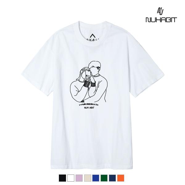뉴해빗- PHOTO VIEW - (SBS9S-7083) - 나염반팔 반팔 티셔츠