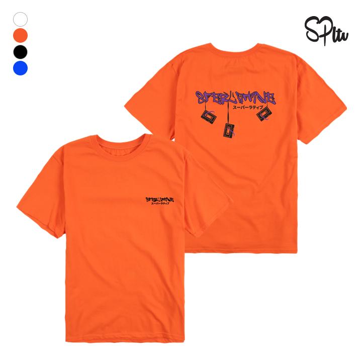 슈퍼레이티브 - TAPESPLTV - (SBS9S-2010) - 나염반팔 반팔 티셔츠