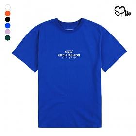 슈퍼레이티브 - KITCH LOGO - (SBS9S-2013) - 나염반팔 반팔 티셔츠