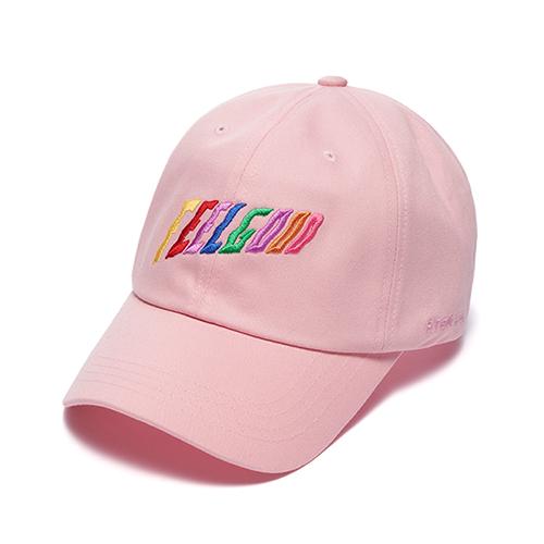 STIGMA - RAINBOW BASEBALL CAP PINK 야구모자 볼캡