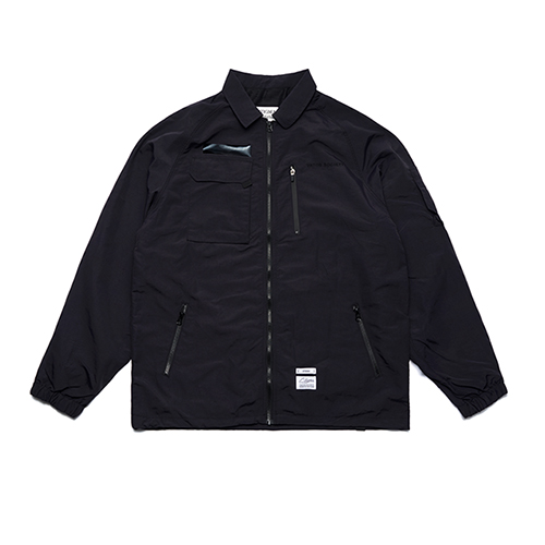 STIGMA - STGM TECH OVERSIZED COACH JACKET BLACK_코치자켓_자켓