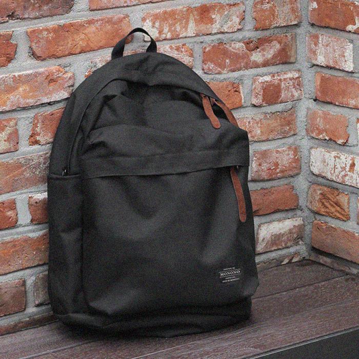 [모노노] MONONO - 트래블 백팩 Travel Backpack ( 블랙 )