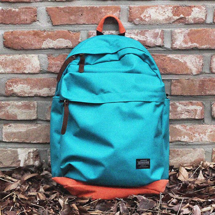 [모노노] MONONO - 트래블 백팩 Travel Backpack ( 민트 오렌지 )