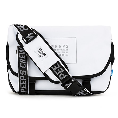 [4종사은품][핍스] essential messenger bag_light edit(light_white) 에센셜 메신저백
