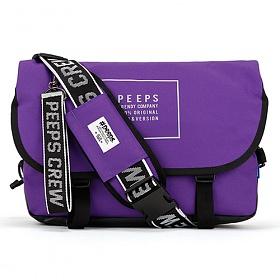 [4종사은품][핍스] essential messenger bag_light edit(light_violet) 에센셜 메신저백