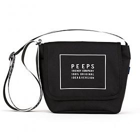 [핍스] reflect light mini cross bag(black) 미니 크로스백