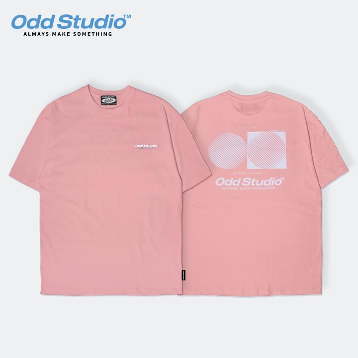 오드스튜디오 아티스틱 티셔츠 - PINK