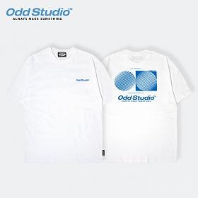 오드스튜디오 아티스틱 티셔츠 - WHITE