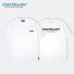 오드스튜디오 오디디 스카치 티셔츠 - WHITE
