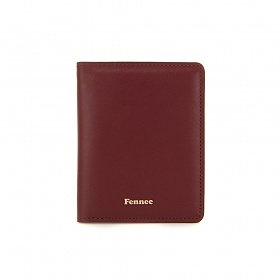 [페넥]Fennec Compact Card Wallet 002 Smoke Red 컴팩트 카드지갑