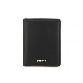 [페넥]Fennec Compact Card Wallet 001 Black 컴팩트 카드지갑