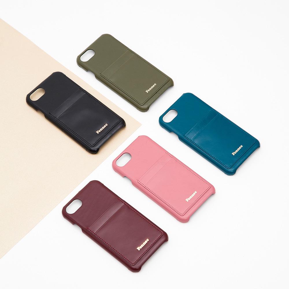 [페넥]Fennec Leather iPhone7/8 Card Case 휴대폰 아이폰 카드케이스