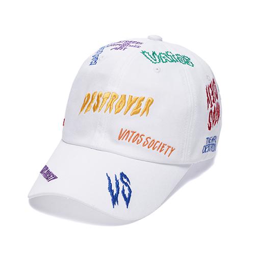STIGMA - DESTROYER BASEBALL CAP WHITE 야구모자 볼캡