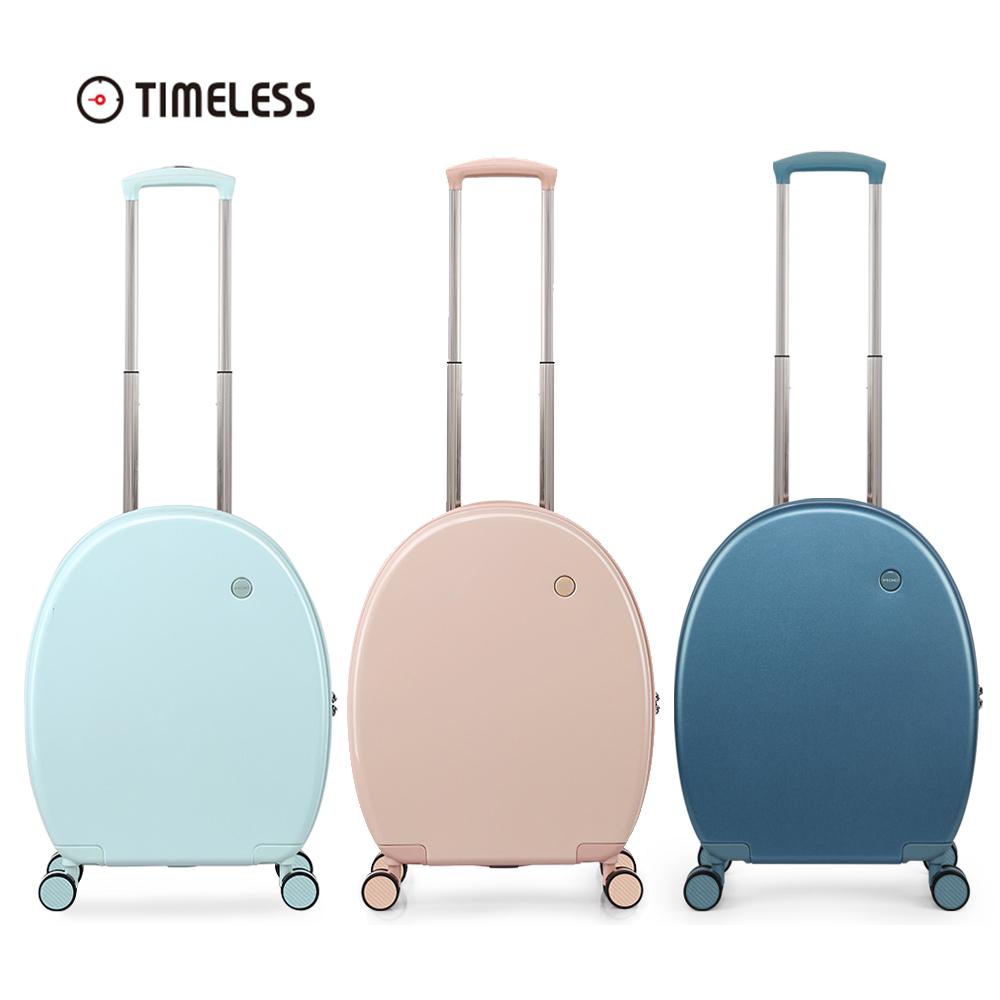타임리스 믹시 러블리 24인치 수화물 하드 캐리어 연예인 여행용가방 공항패션 필수템