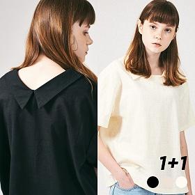 [프로젝트624](1+1) 프론리어 카라 티셔츠 3COLOR