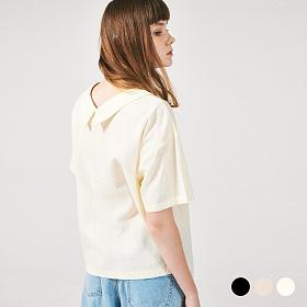 [프로젝트624]프론리어 카라 티셔츠 3COLOR