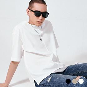 [프로젝트624](MEN) 프론트 오픈 코튼 티셔츠 3COLOR