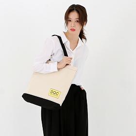 [드레피소드] DQC 그래비티 캔버스 에코 북백 DL21-IV