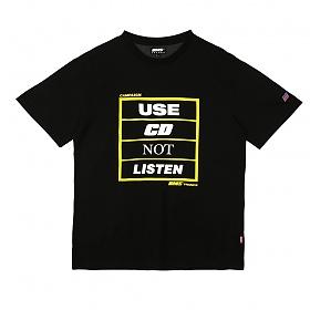 [비엠에스프랑스] BMSFRANCE BMS CAMPAIGN Overfit T-shirts - 오버핏반팔티 - black (GEZ2286_39)