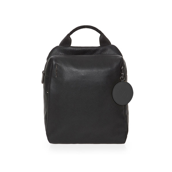[만다리나덕]MANDARINADUCK - MELLOW LEATHER backpack FZT66001 (Nero) 백팩