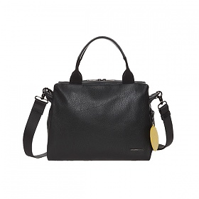 [만다리나덕]MANDARINADUCK - MELLOW LEATHER bowling bag FZT87001 (Nero) 토트백 크로스백