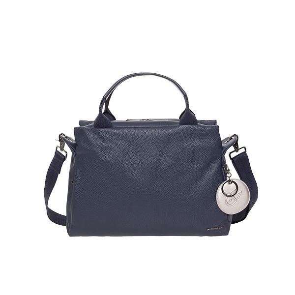 [만다리나덕]MANDARINADUCK - MELLOW LEATHER bowling bag FZT8708Q (Dress Blue) 토트백 크로스백