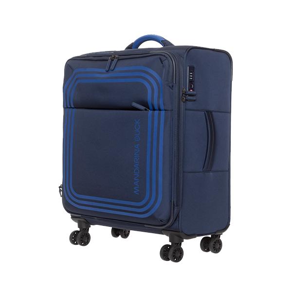 [만다리나덕]MANDARINADUCK - BILBAO Medium VAV0308Q (Dress Blue) 24인치 확장형 소프트캐리어