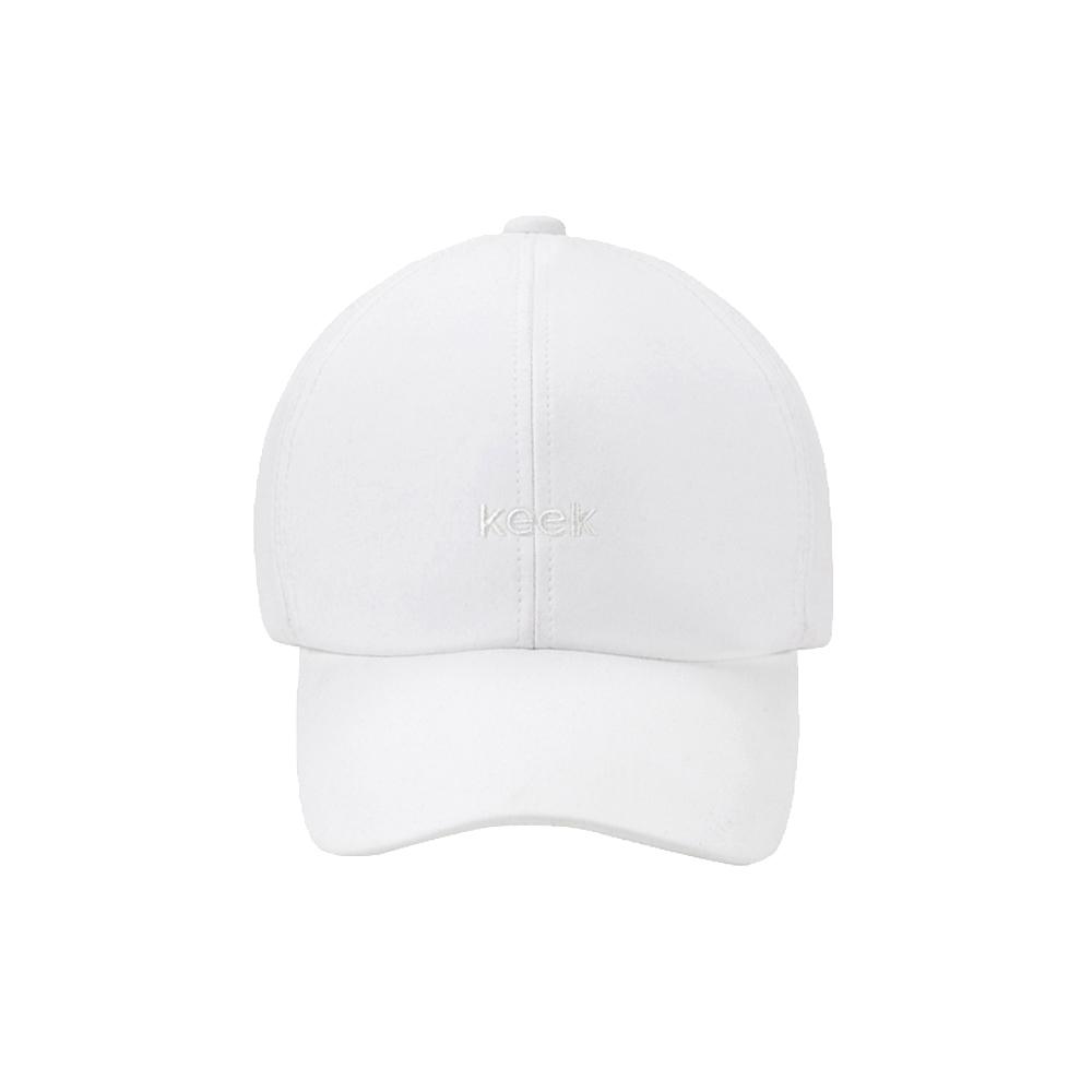 [키크]keek 버클 캡 - White